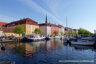 Rowboating in Christianshavn, Copenhagen