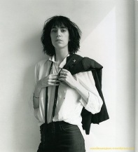 Patti Smith. Cover of Album 'Horses'