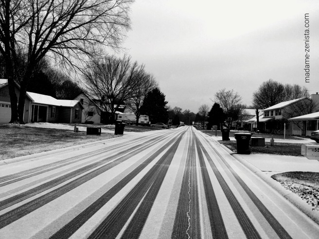 black and white, monochromes, photography, roads, snow,